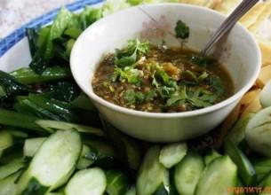 'น้ำพริกหนุ่ม' เมนูอาหารแสนง่ายทานกับผักชนิดต่างๆ อย่างอร่อย