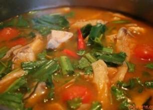 ต้มแซ่บกระดูกหมูอ่อนเมนูอาหารไทยร้อนๆ รสแซ่บเพื่อสุขภาพ