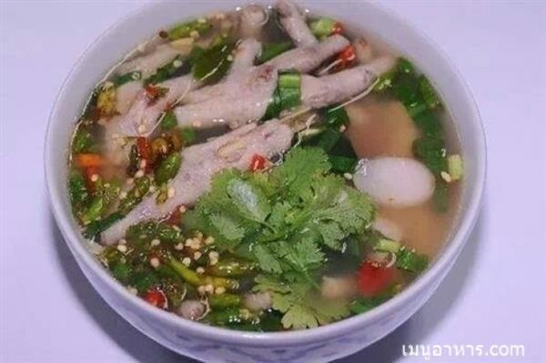chicken-feet-spicy-soup