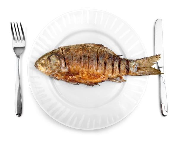 ทอดปลาไม่ให้น้ำมันกระเด็น