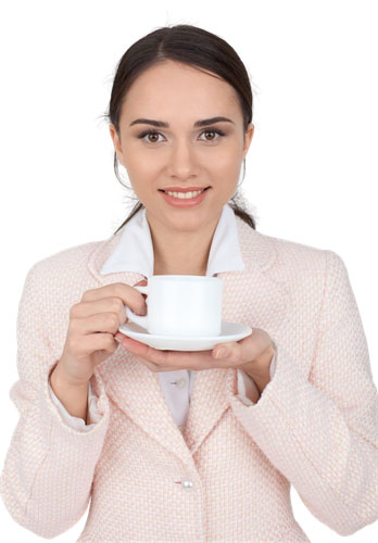 ดื่มชาสะระแหน่