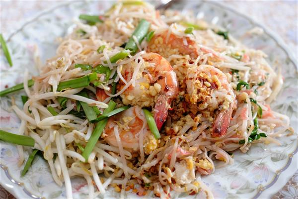 วิธีทำผัดไทยกุ้งสด